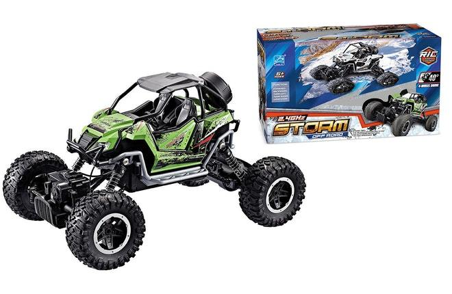GREEN Offroad Buggy 1:18 Yuandi 3 month warranty applies Tech Outlet
