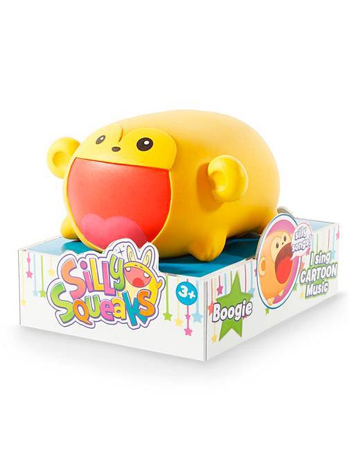Silly Squeaks Squishy Musical Toy - Boogie