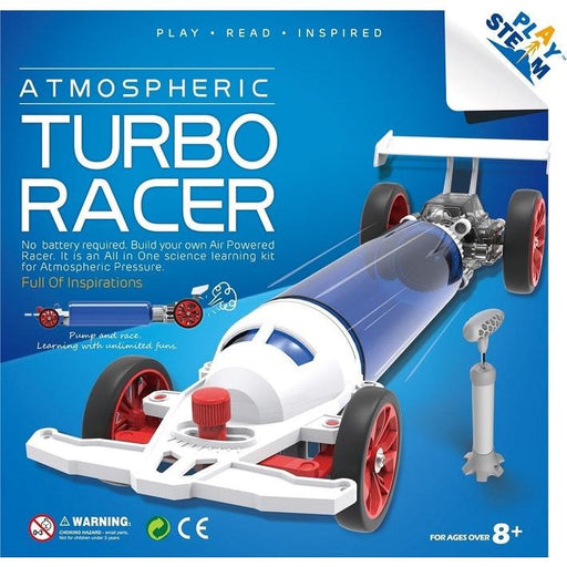 PlaySteam Atmospheric Turbo Racer 3 month warranty applies Playsteam