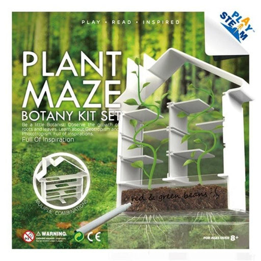 PlaySteam Plant Maze Botany Kit 3 month warranty applies Playsteam