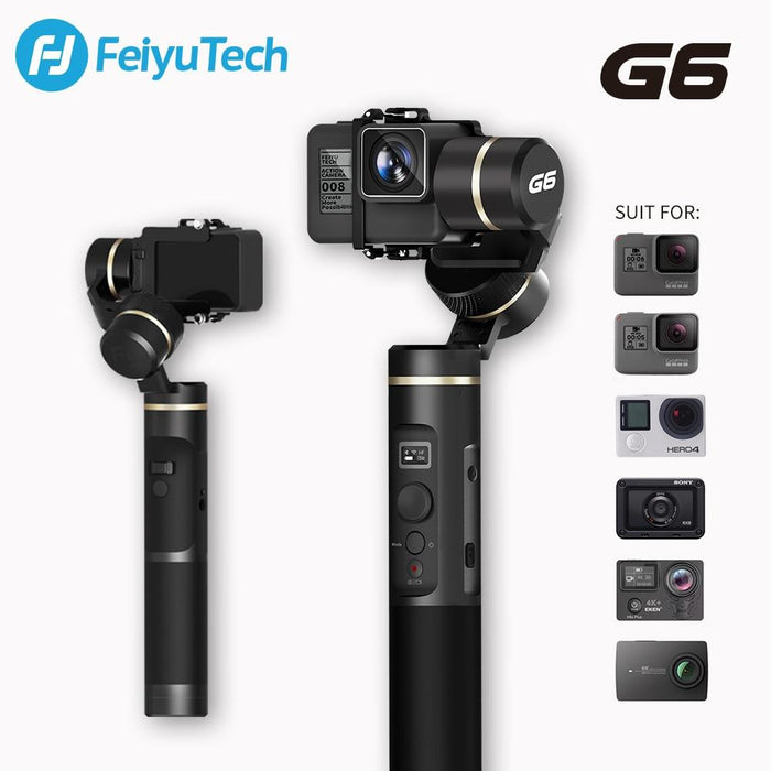 FeiyuTech G6 Handheld Splashproof Gimbal - for latest Gopro Hero 8 12 month warranty applies Feiyutech