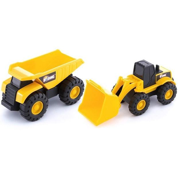 "RHINO Mini Machines 3""/8cm - Twin Pack Assorted"