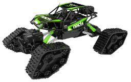 Rock Crawler Monster RC Offroader with Tracks for additional traction 3 month warranty applies Tech Outlet