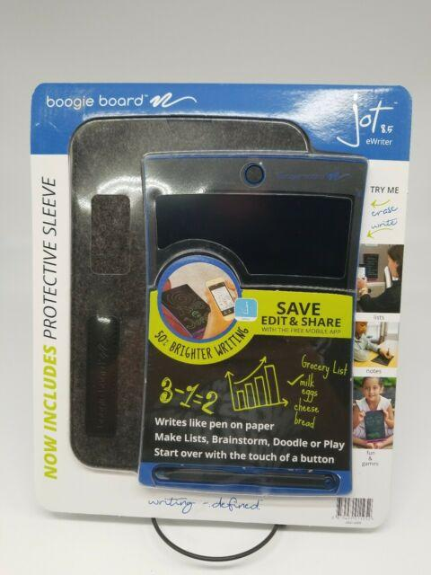 Boogie Board JOT 8.5 BLUE with BONUS Protective Sleeve 3 month warranty applies Boogie Board