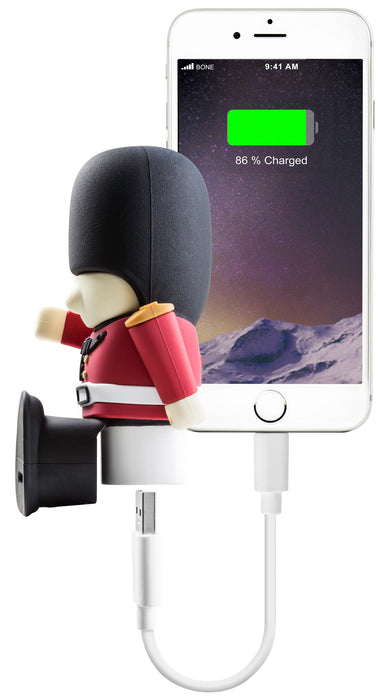 Bone Collection Queens Guard Power 2600 Power bank 6 month warranty applies Bone Collection