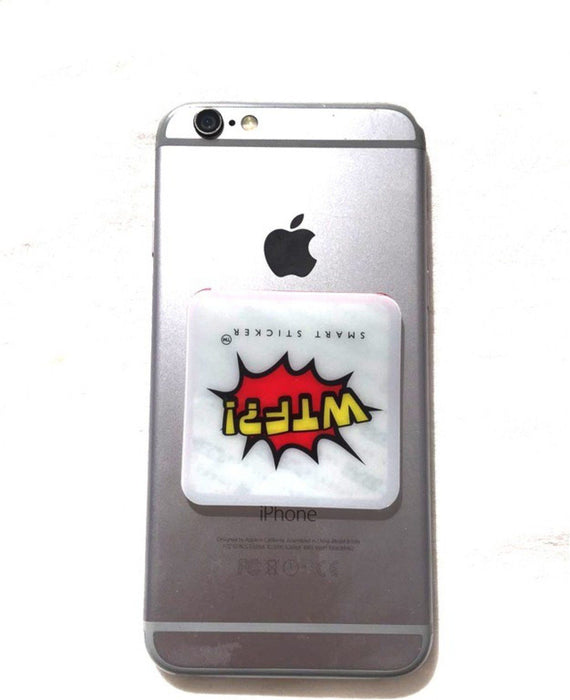 WTF! Smart Sticker for the back of your phone