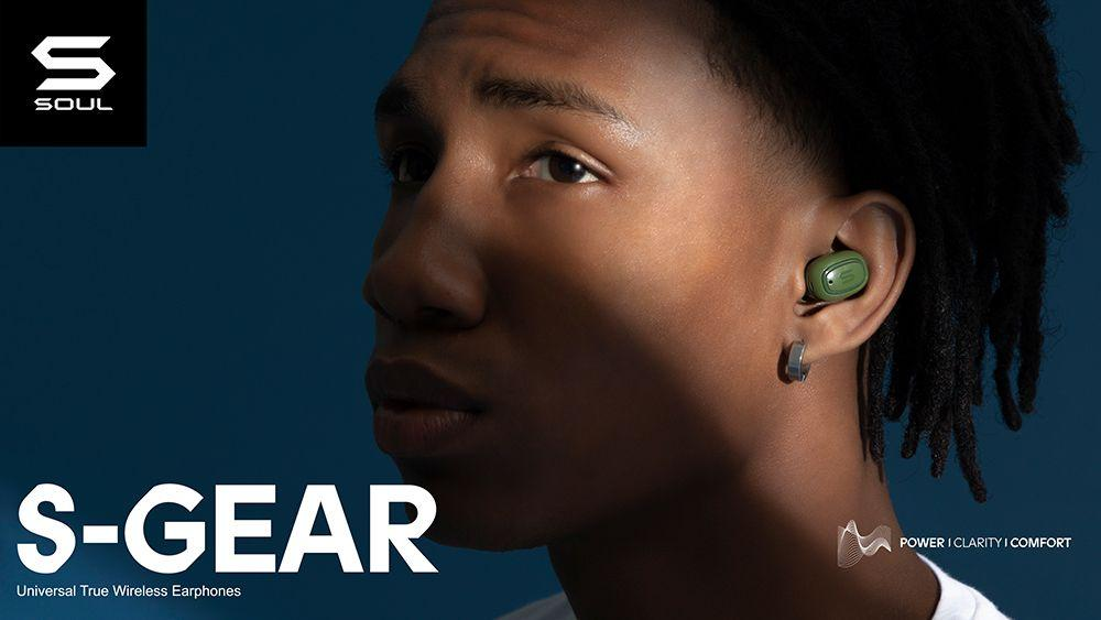 Soul S-Gear : True Wireless Earbuds