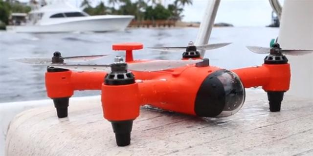 SPRY + The Compact Water resistant & floating drone