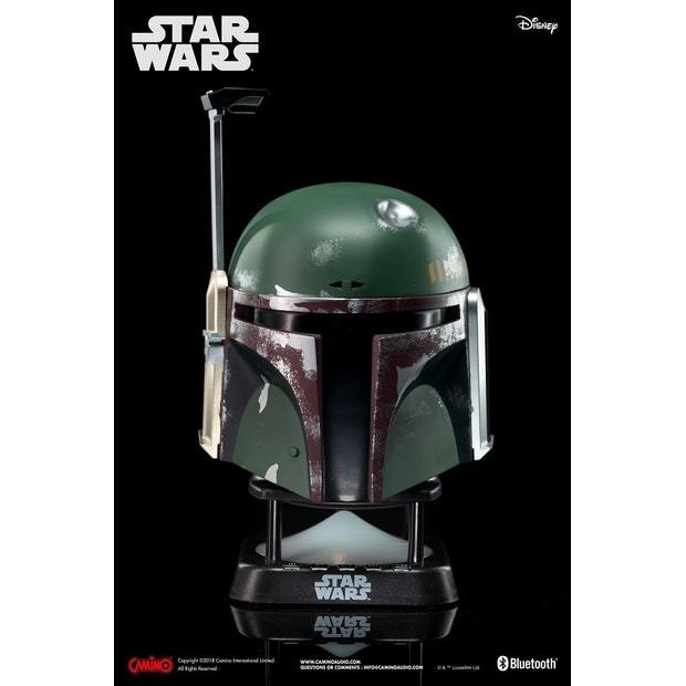 Star Wars Boba Fett Mini Bluetooth Speaker 12 month warranty applies Star Wars