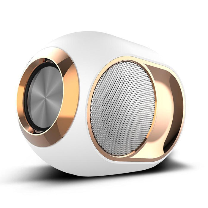 Premium Speaker System with XBass - Innovative & High Power in a compact size WHITE