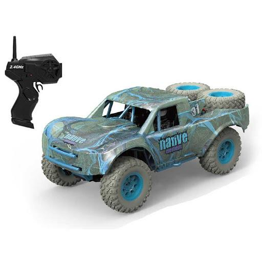 HB Toys Short Course RC Truck Silver/Blue