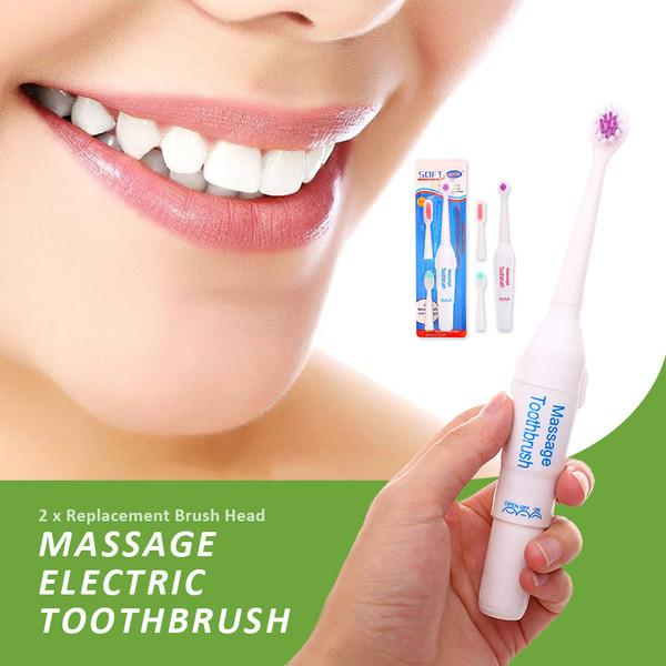 Ultrasonic Soft-Sonic Electric Toothbrush