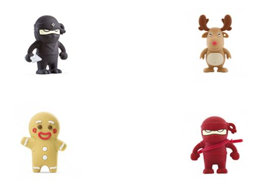 Bone Collection USB 16GB Flash Drive 12 month warranty applies Bone Collection Red Ninja