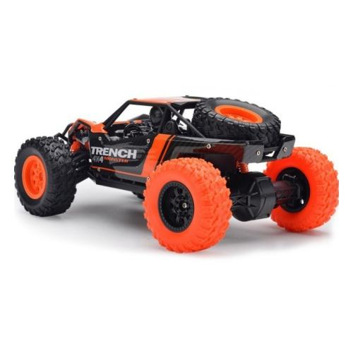 HB Toys Electric Desert Truck RC Off Roader Black/Orange 3 month warranty applies Tech Outlet