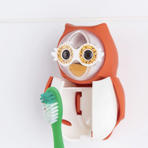 Flipper OWL Children's Toothbrush holder - with brushing timer 12 month warranty applies Flipper