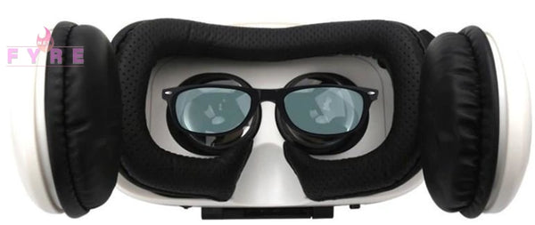 Leather 3D Virtual Reality Glasses Glasses/