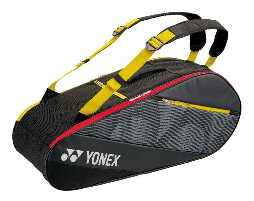 YONEX ACTIVE BAG 6R 82026 BLACK/YELLOW