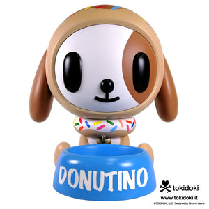tokidoki Donutino comes to life in Awesum's Upsized collectible lifestyle product line. This kawaii dog comes with his own bowl.