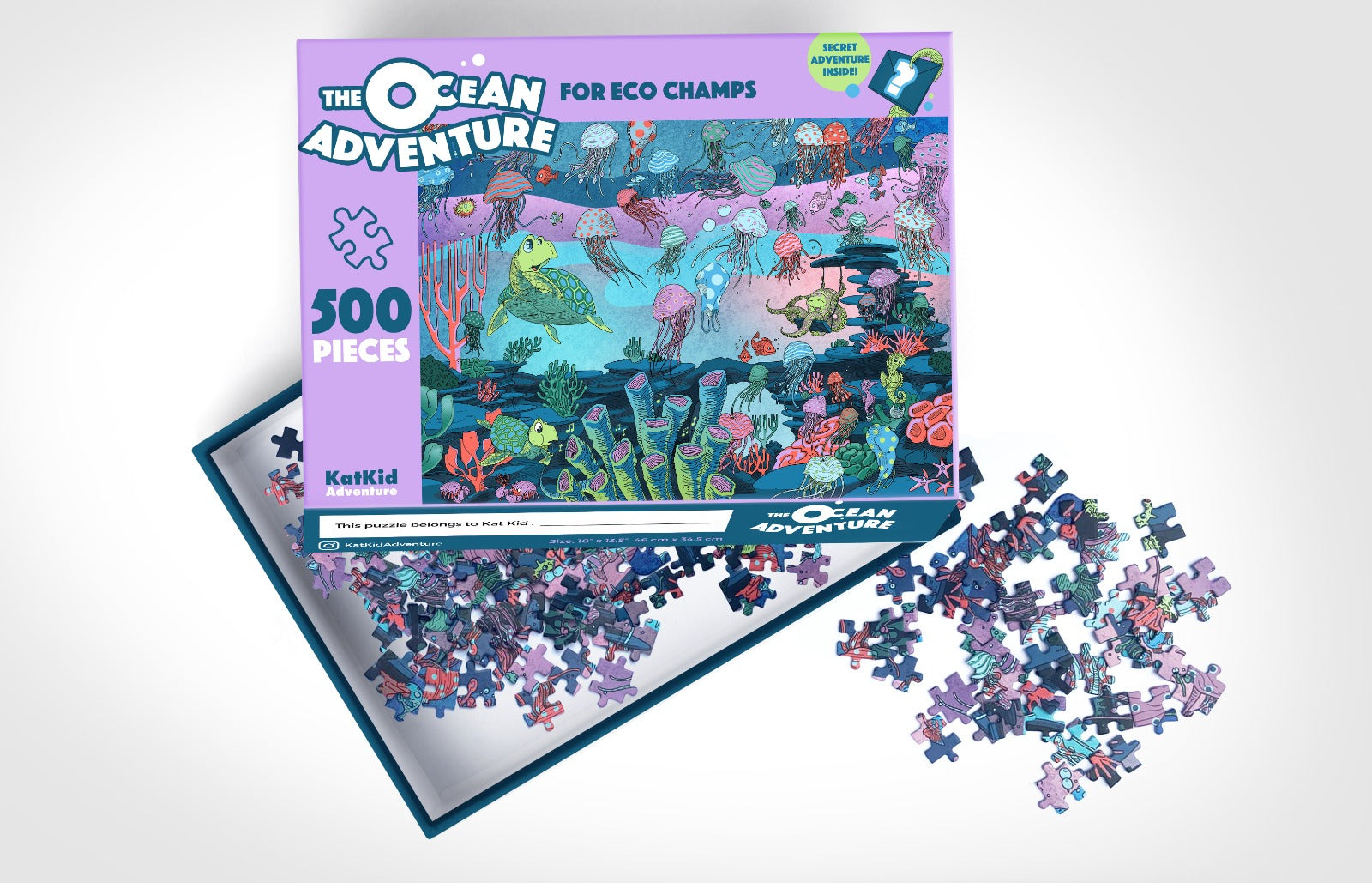 Pre-Order The Ocean Adventure Jigsaw Puzzle