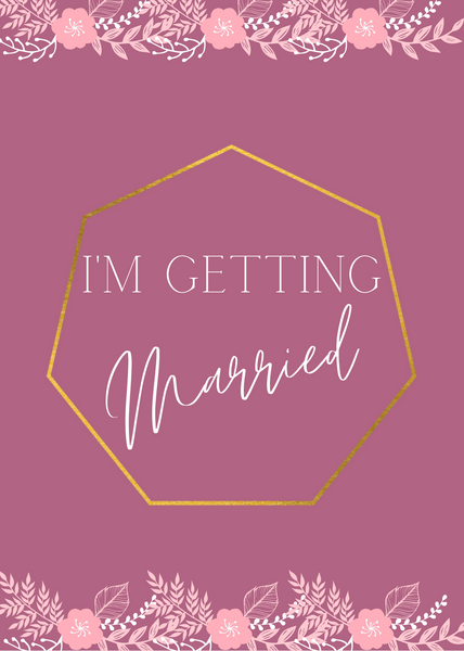 I am Getting Married - Wedding Screensaver