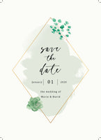 Green and Gold Wedding Suite