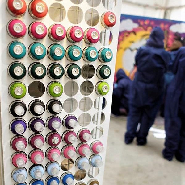 Graffiti Workshop - Urban Art - Dresdner Erlebniswelt