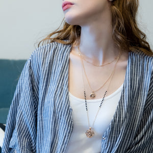 Double Coin Necklace - LAMILA TIENDA