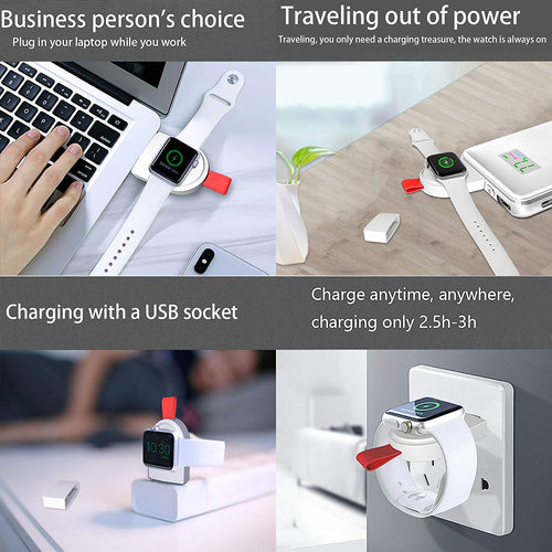 Portable Magnetic iWatch Wireless Charger