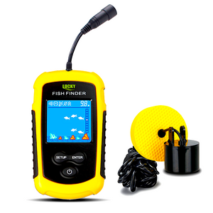 2019 Lucky Pro's Choice Sonar Fish Finder ® Wired or Wireless
