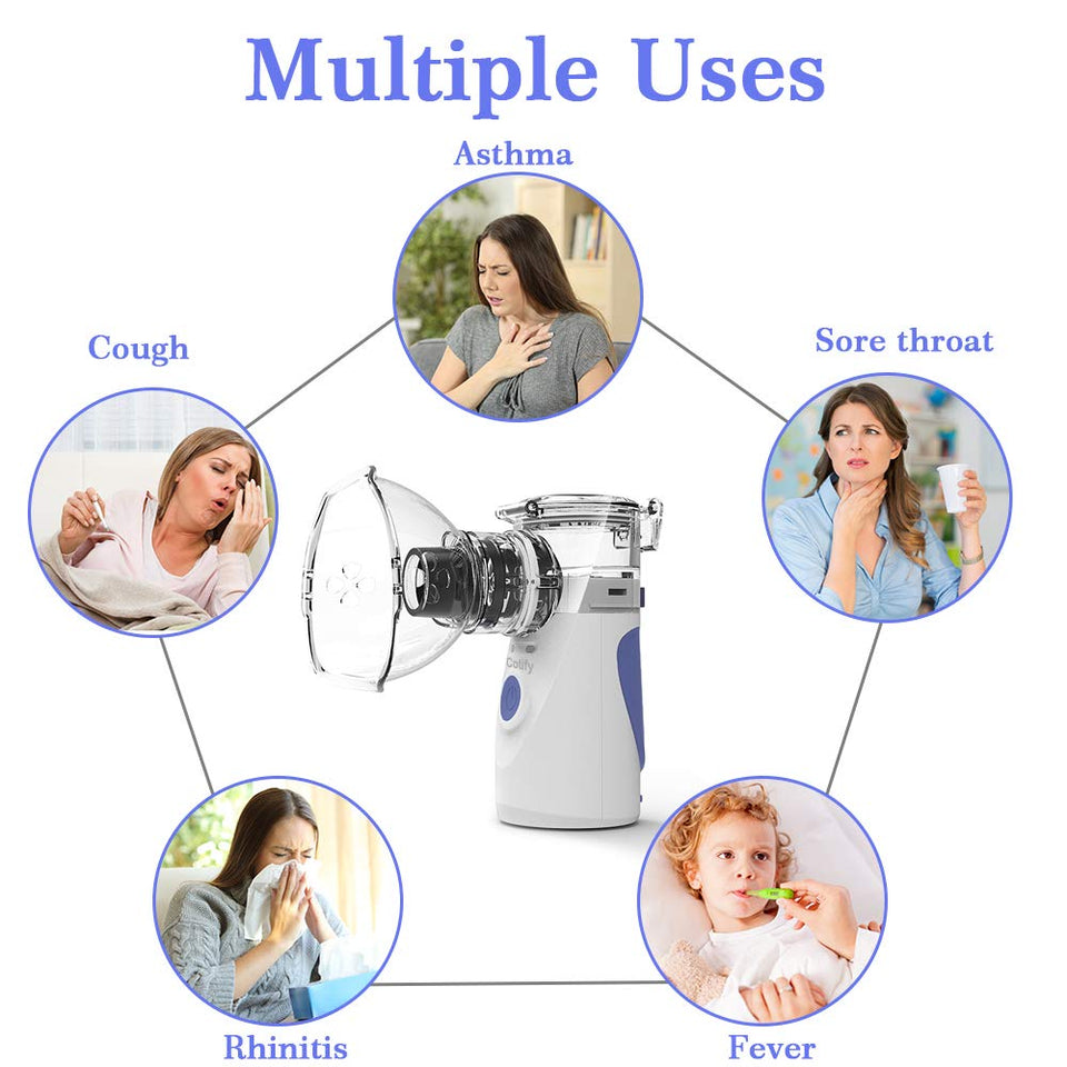 Portable Mini Nebulizer & Inhaler Machine