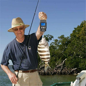 PORTABLE FISHING HOOK SCALE WITH MEASURING TAPE