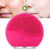Skin care electric facial cleansing brush vibration massage waterproof silicone face wash brush facial  treatment Beauty Care