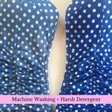 Machine Wash - Harsh Detergent