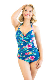 Sirens Swimwear Grace Classic | Beach Bloom S18-Grac-BLO-08