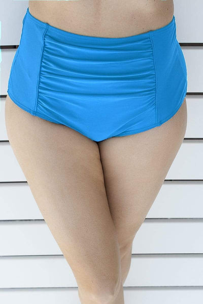 Sirens Swimwear High Waist Pants | Light Blue S18-Pant-LBL-B08