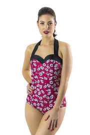 Sirens Swimwear Lyla Sweetheart | Poppy Posey S17-Lyla-POP-08