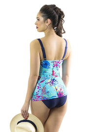 Sirens Swimwear Mindy Tankini Bottom | Paradise Found S17-MIND-PAR-B08