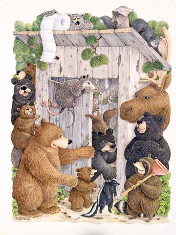 """Whose Turn Is It?"" Giclee Print"