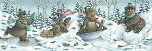 """Winter Fun"" Giclee Print"