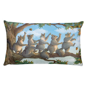 """Tree Top Boogie"" Pillow"