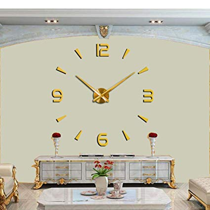 Giant 3D Clock For Home/Office Decoration Original Clock - 120cm/4feet