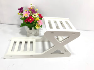 Showcase Floating Shelves,Hanging Flower Pot,Plants Holder,Storage Shelf Rack White