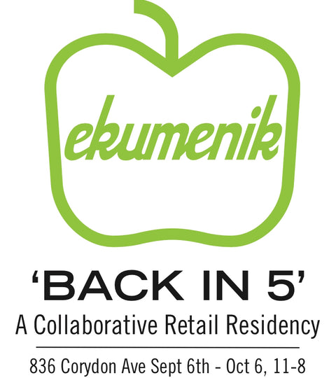 Green Apple & Ekumenik Present: 'BACK IN 5'