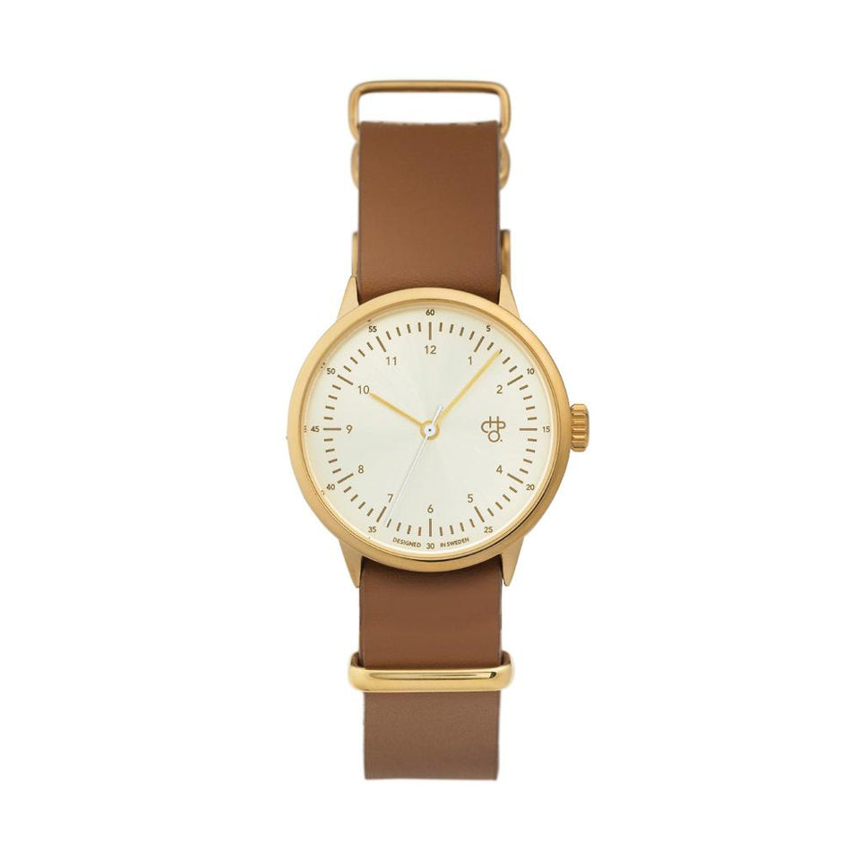 HAROLD MINI | Gold/White/Brown