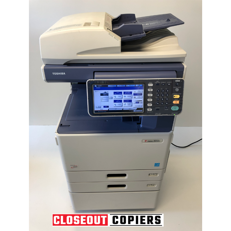 Toshiba E-Studio 3055C Color Copier / Printer / Scanner (Refurbished)
