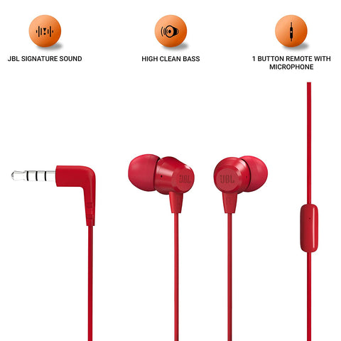 JBL T50HI in-Ear - Wired Headphone