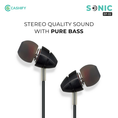 Cashify Sonic Wired Earphone EP-02