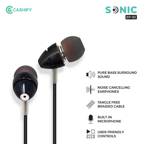 Sonic Wired Earphone EP-02