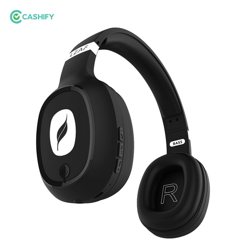 LEAF Wireless Bluetooth Headphones - Black