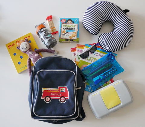 The Organising Platform Kids Travel Back Pack